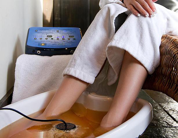 EcoDétox bain ionisant détoxifiant fabriqué au Québec Canada.